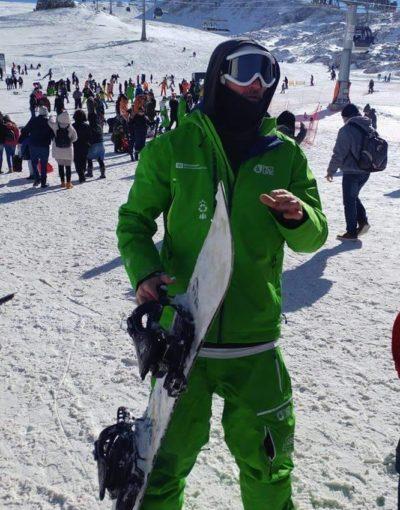 Προπονητής Snowboard Νίκος Πισκόπος