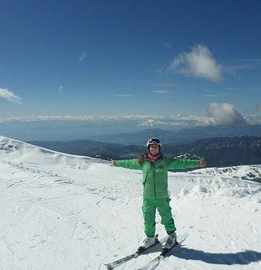 Προπονήτρια Σκι & Snowport Manager Σοφία Κόμπου