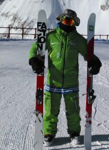 Προπονητής Freestyle Ski & Ski Τριαντάφυλλος Τριανταφύλλου
