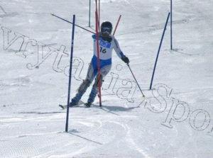 Αθλητής Σκι Δημήτρης Συκαράς