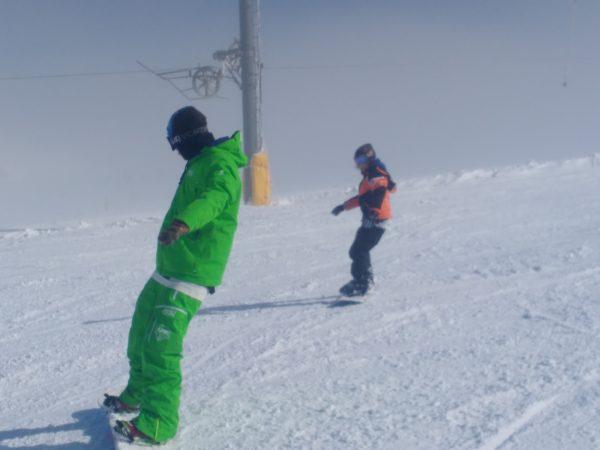 Μάθημα Snowboard